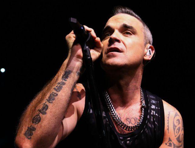Estrella. Robbie Williams.