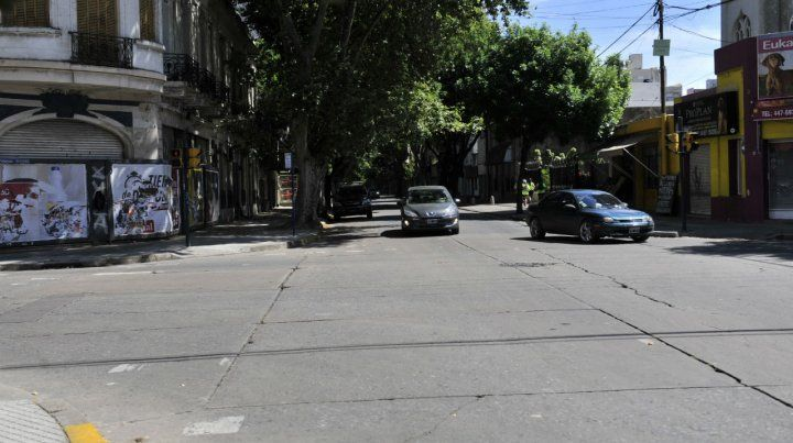 El lugar. La esquina de Santiago y Mendoza