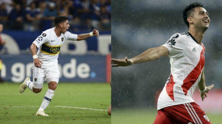 Pavón es la carta ofensiva del conjunto de Guillermo. Pity Martínez jugará en el mediocampo.