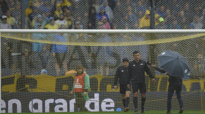 Debido al mal tiempo, suspenden la primera final de la Libertadores entre Boca y River