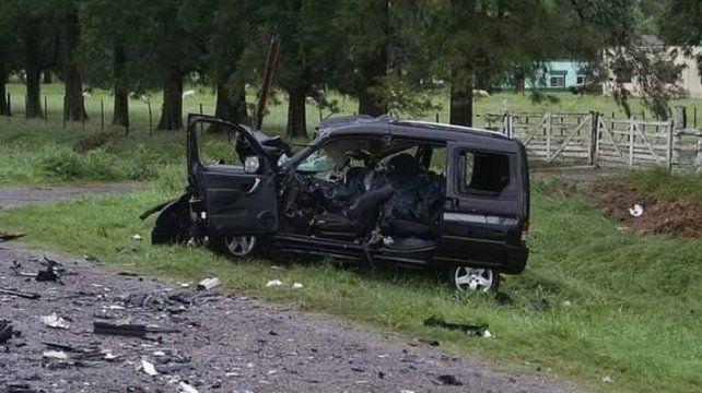 Cuatro jóvenes hinchas de Boca murieron en un accidente