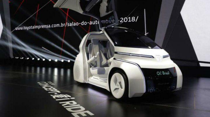Futurista. Las últimas novedades se vieron en el Salón del Automóvil de San Pablo.