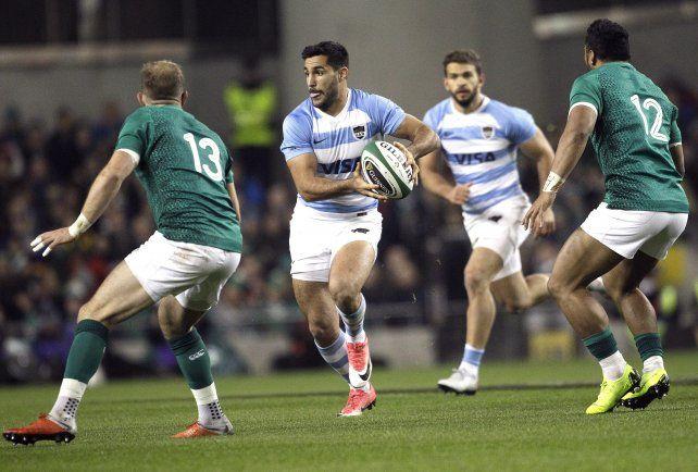 Los Pumas perdieron frente a Irlanda en el inicio de la gira europea