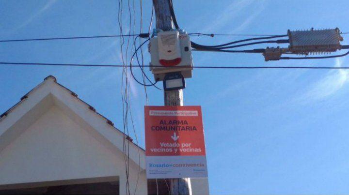 Alarmas comunitarias. El proyecto de López Molina busca darle ese destino al fondo provincial.