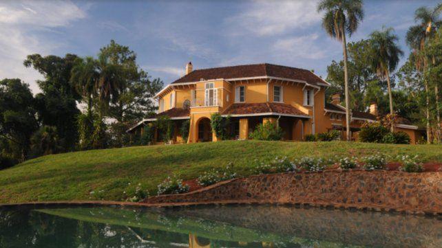 Casa Bemberg, la propiedad que alberga la historia de la familia Bemberg en Puerto Libertad, Iguazú, reabre  sus puertas