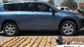 Febrero de 2014. Quevedo fue apresada en una ruta de Salta en un vehículo donde llevaba 80 kilos de cocaína.
