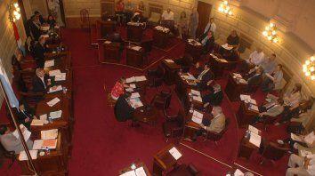 Bajo análisis. Los senadores tienen en sus manos la posibilidad de inyectarle más fondos al sistema de colectivos.