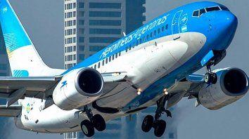 El presente de la línea aérea de bandera fue objetado por Macri.