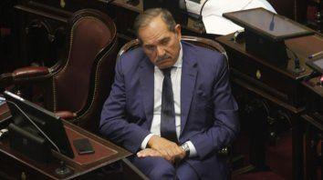 Portazo. José Alperovich oficializó ayer su decisión de abandonar la bancada peronista.