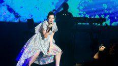 La reina. La neocelandesa Lorde hizo delirar a sus fans.