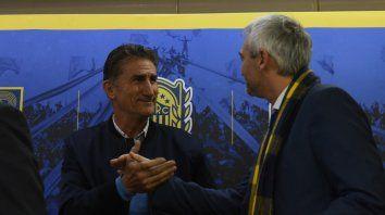 Carloni: El Patón tiene el total respaldo de la comisión
