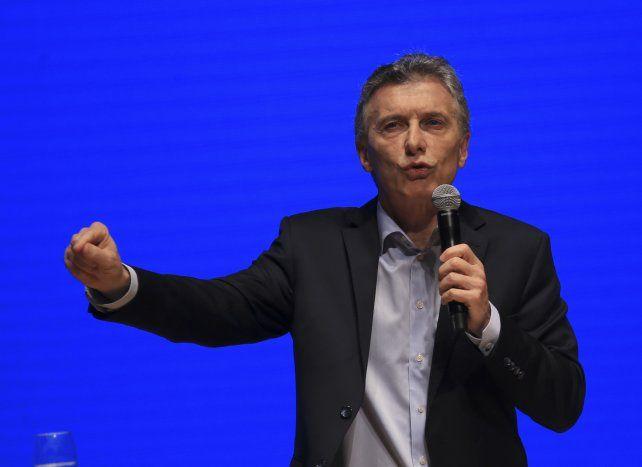 Macri: Construimos futuro rompiendo los vicios del pasado