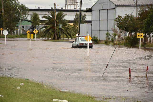 Maciel fue una de las localidades más afectadas por las inundaciones.
