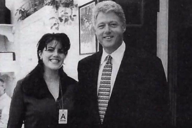 Bill Clinton y Monica Lewinsky, una relación que terminó en uno de los mayores escándalos de un presidente de EEUU.