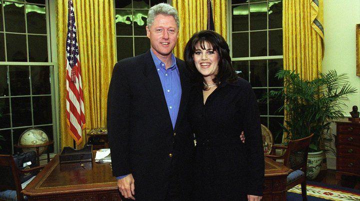 La relación con Lewinsky le costó un juicio político a Clinton cuando era presidente.