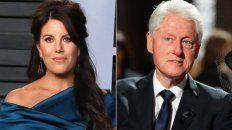 Lewinsky y Clinton protagonistas de un escándalo que sacudió los cimientos del poder en EEUU.