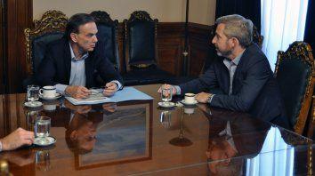 Tándem político. Pichetto y Frigerio, estrategas fundamentales para sumar votos de la oposición.