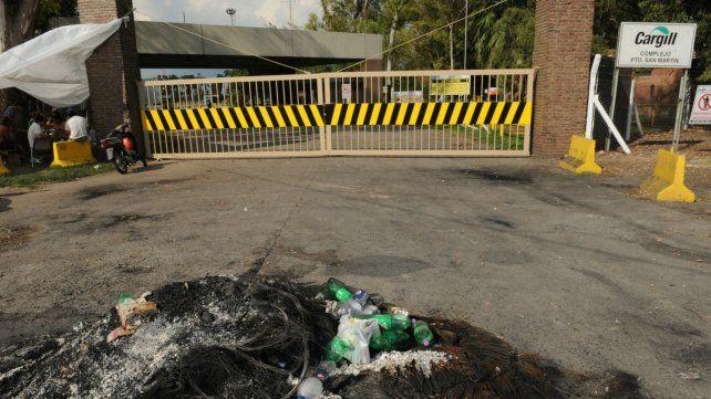 En la planta de Cargill de Puerto San Martín el paro arrancó a las 22.