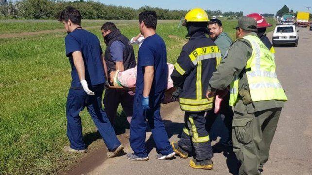 Un rosarino murió al chocar de frente con su auto contra un camión en la autopista a Buenos Aires
