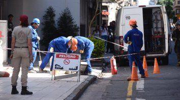 Escenas de pánico por un escape de gas en pleno centro rosarino