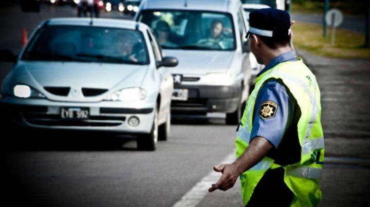 Seguridad Vial realiza desvíos en diferentes rutas de la región.