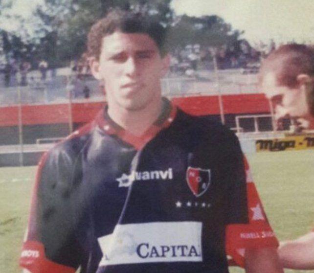 Maxi Rodríguez recordó su debut en Newells con un tierno mensaje