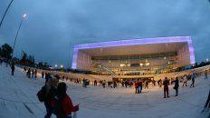 con un show artistico de primer nivel se inauguro el espectacular antel arena