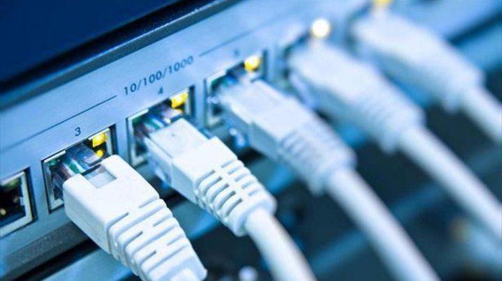Cortaron un cable de fibra óptica y una amplia región quedó sin servicio de Internet