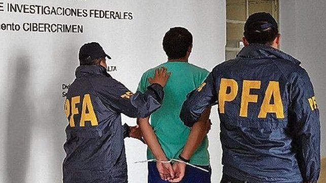 Casos. La detención este año de un profesor violador en Buenos Aires.