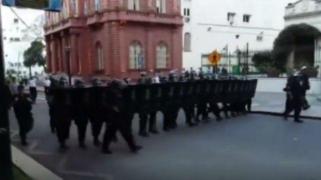 Incidentes por la detención de líder barrial de La Sexta