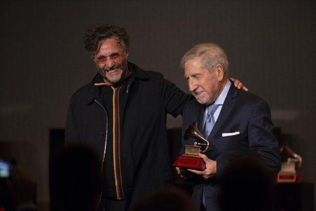 Fito Páez ganó el Grammy a la mejor canción de rock
