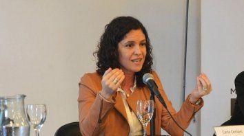 Fiscal. Carla Cerliani, de la Unidad de Delitos contra la Integridad Sexual.
