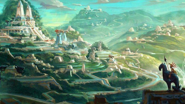 Proyecto. La serie está inspirada en el mundo mitológico de Mesoamérica.