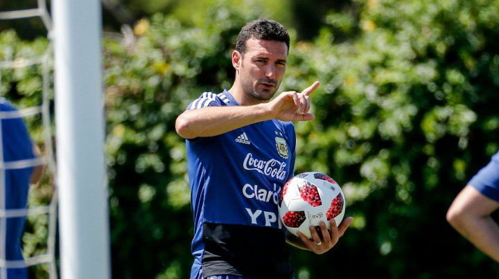 Salió del Parque. Scaloni es candidato firme a seguir al frente de la selección nacional ante la falta de otras opciones.