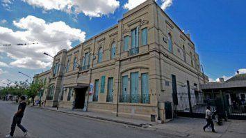 El hospital Cullen de Santa Fe donde atendieron a la víctima.