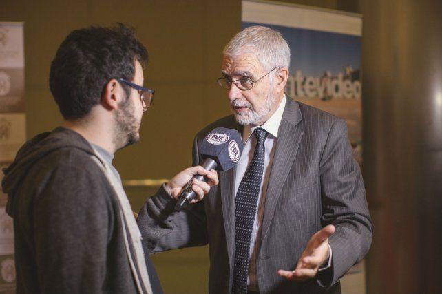 El viceministro de Turismo de Uruguay, Benjamín Liberoff.