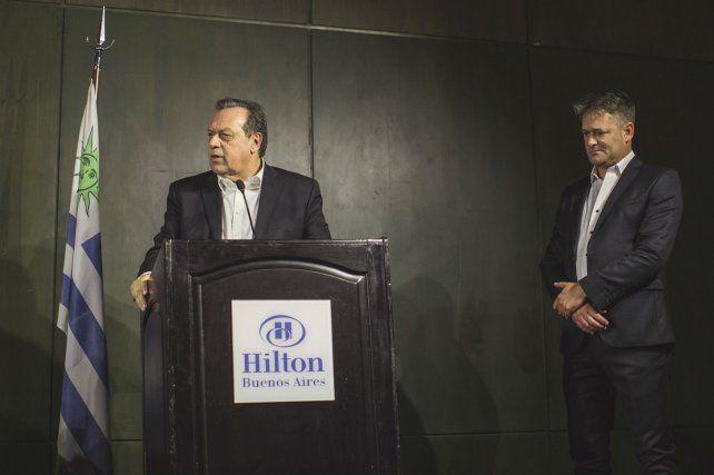 El  ministro de Turismo de Argentina, Gustavo Santos.