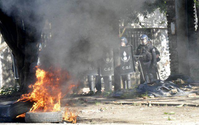 El militante que impidió la realización de obras en el barrio de La Sexta seguirá preso