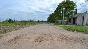 Avenida. Los fondos nunca fueron rendidos a la Nación porque la obra de pavimentación jamás se ejecutó.