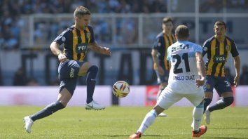 Defensor. Caruzzo no se recuperó del desgarro pero mañana será titular en Córdoba.