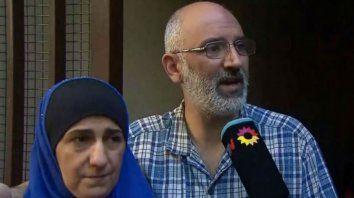 Réplica. Los padres de los hermanos Salomón negaron vínculo alguno con la organización chiita libanesa.