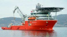 El buque que halló al submarino dejó la zona de búsqueda