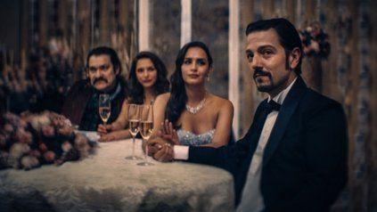 Diego Luna interpreta a Félix Gallardo, el capo de la droga en el país azteca en la década de los 80.