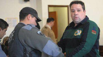Preso. Segovia, detenido en noviembre de 2008, deberá cumplir una condena unificada en 16 años de prisión.