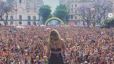 Cómo fue el show de Jimena Barón en la Marcha del Orgullo Gay