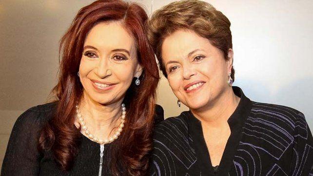 Cristina y Dilma encabezan hoy la contracumbre del G20