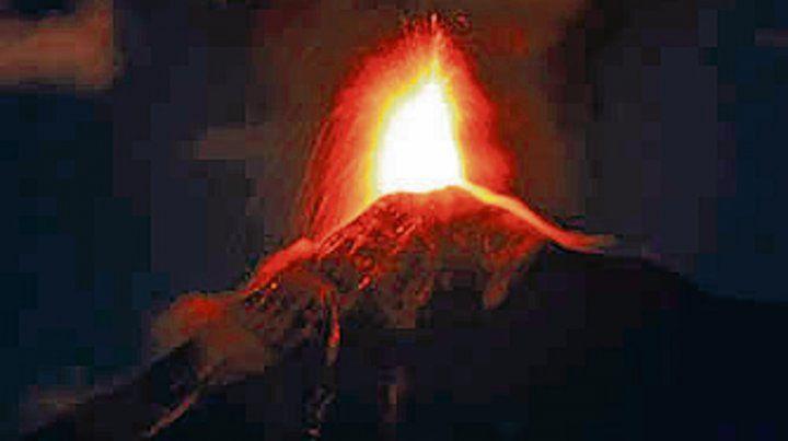 Volcán de fuego. Guatemala.