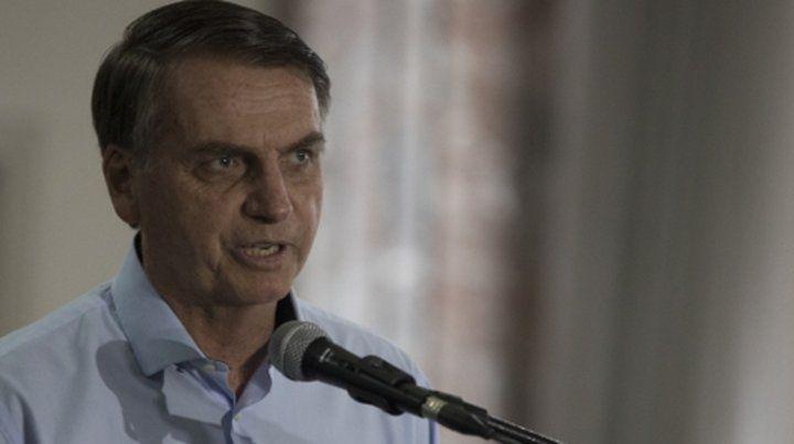 Decidido. Bolsonaro matizó que no se venderán los sectores  estratégicos de Petrobras pero sí las áreas de destilación y  distribución.