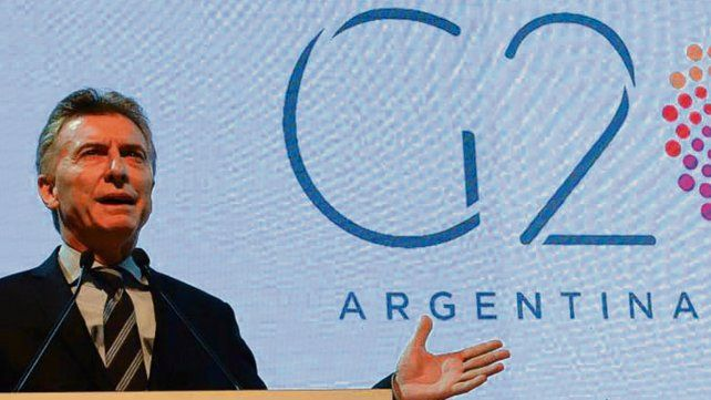 El anfitrión. Macri moderará un reunión privada de los mandatarios.