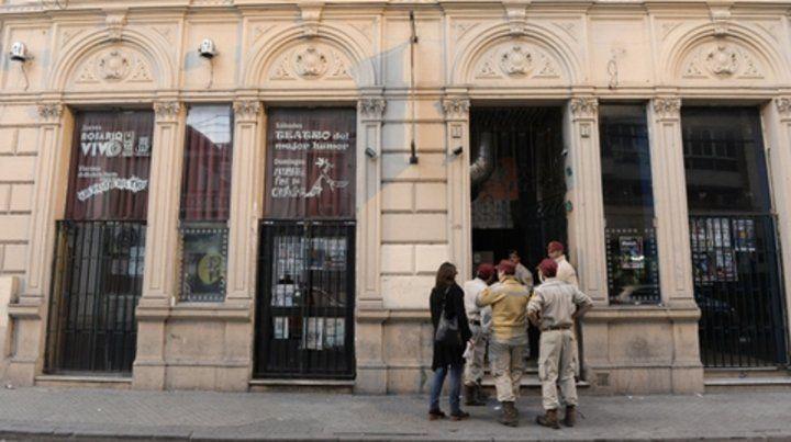 El lugar. La tragedia se desató en el bar de Mendoza 682.